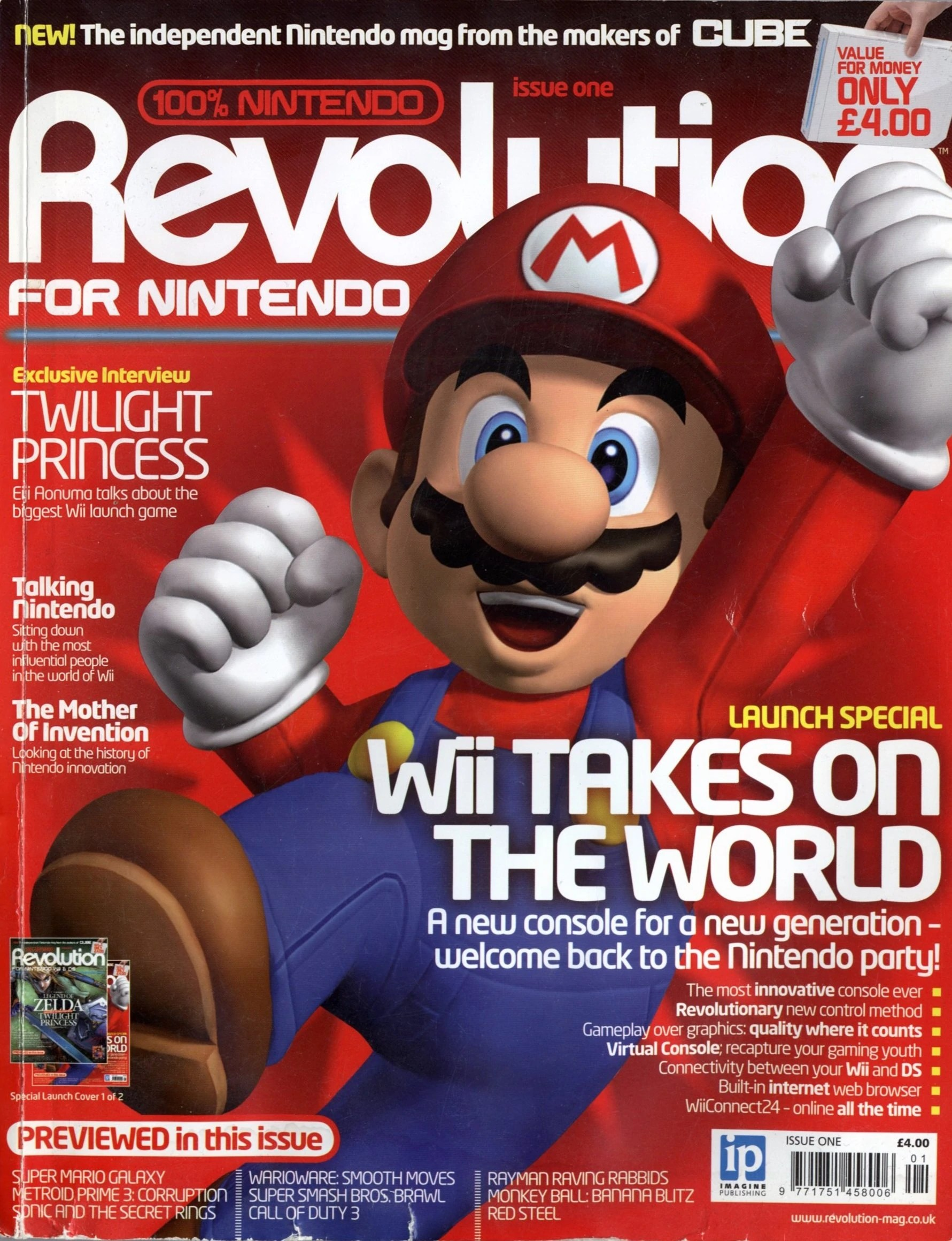 Console Magazine Revolution Issue 1 Magazines From The Past Wiki Fandom Powered