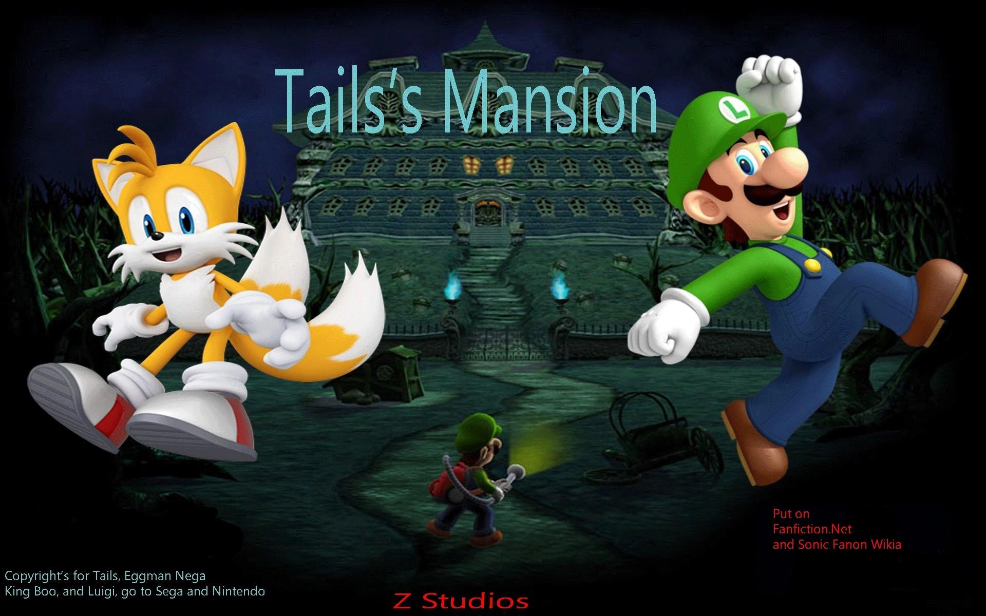 Super Mario 3d World Wallpaper Tails S Mansion Super Mario Fanon Fandom Powered By Wikia