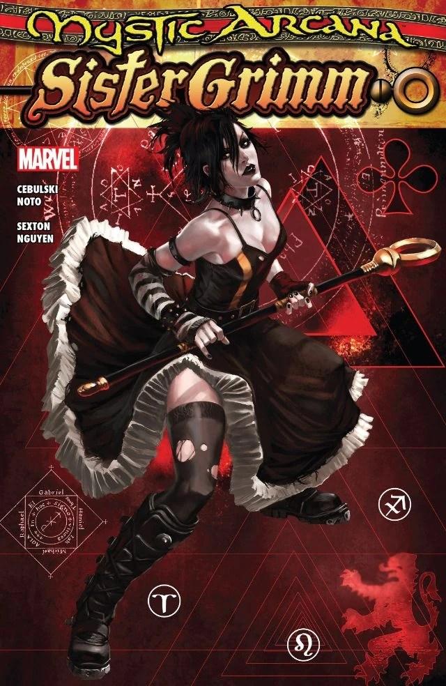 Wolverine 3d Wallpaper Mystic Arcana Sister Grimm Vol 1 1 Marvel Database