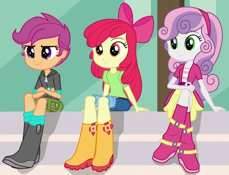 Fall Schoolhouse Wallpaper Cutie Mark Crusaders Eg My Little Pony Friendship Is