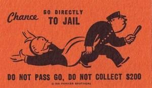 Go To Jail Card Monopoly Wiki Fandom Powered By Wikia