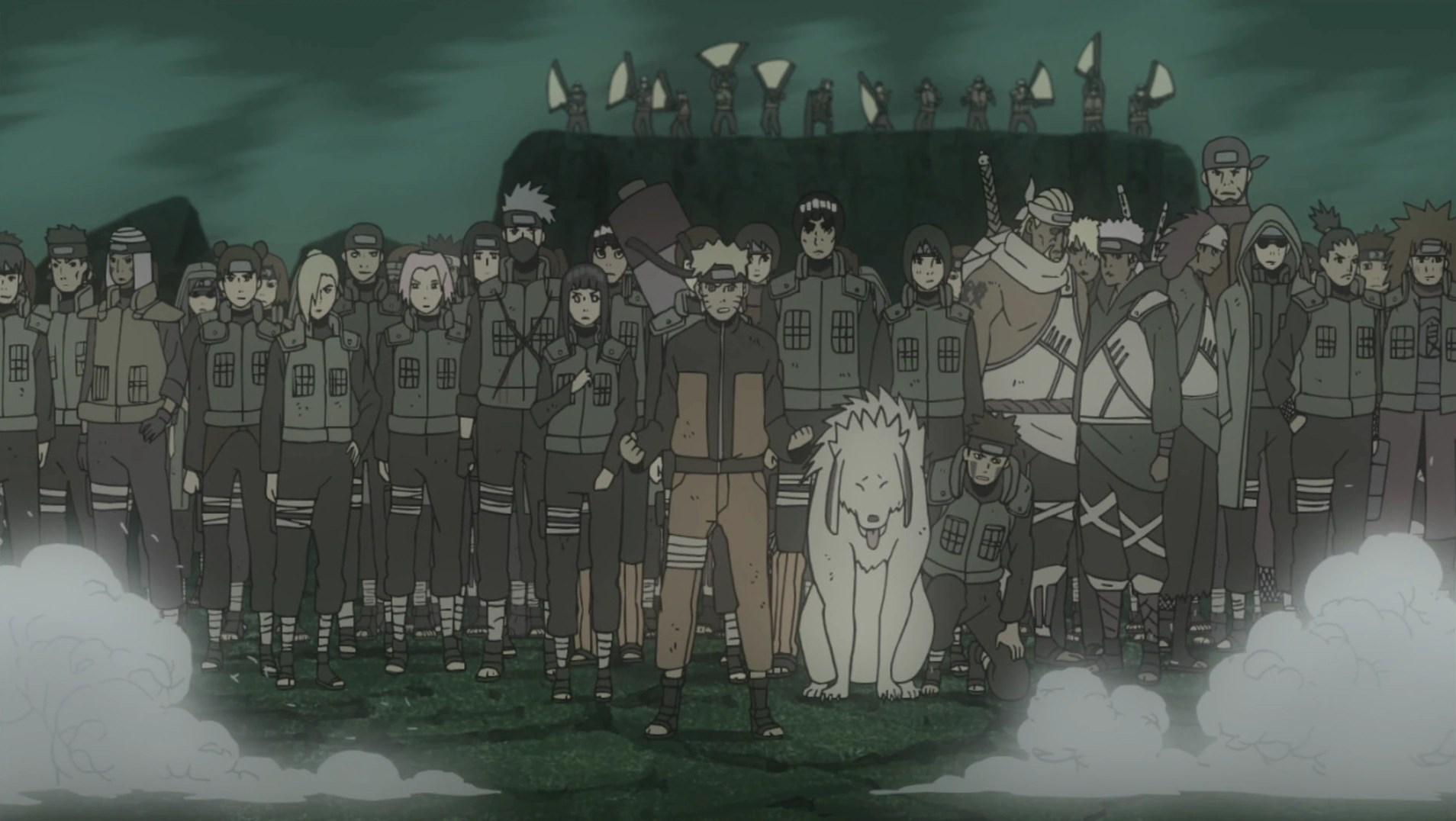 Naruto Quotes About Pain Wallpaper Allied Shinobi Forces Technique Narutopedia Fandom