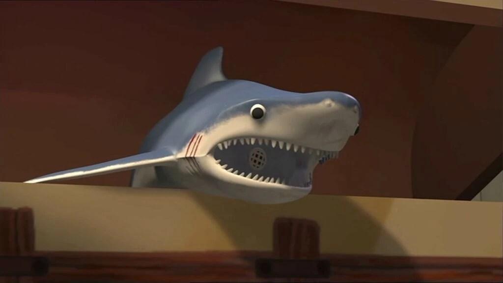 Mr Shark Pixar Wiki Fandom Powered By Wikia