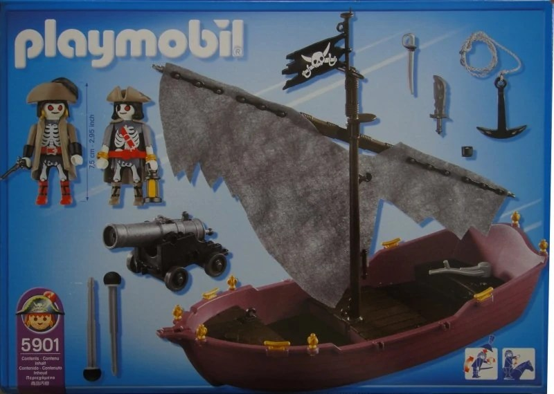Playmobil 4806 5901 Ghost Pirate Ship | Playmobil Wiki | Fandom