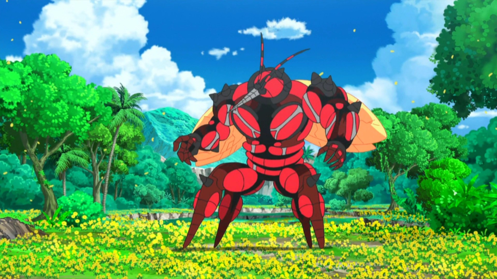 Black And Blue Wallpaper Buzzwole Anime Pok 233 Mon Wiki Fandom Powered By Wikia