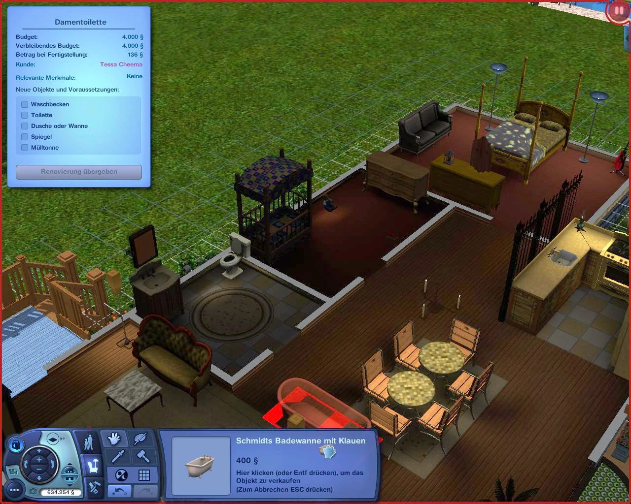 Badewanne Wiki Renovation Mode The Sims Wiki Fandom Powered By Wikia