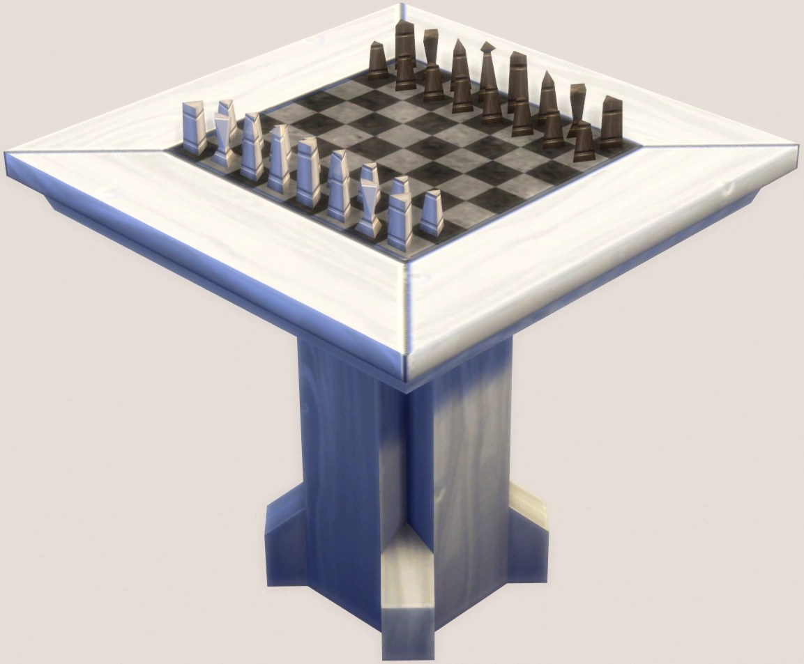 Chess Table Chess Table The Sims Wiki Fandom Powered By Wikia