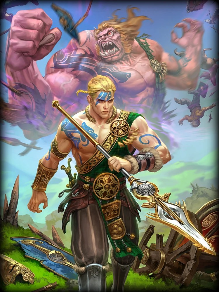 3d God Wallpaper Of Hindu Gods Cu Chulainn Smite Wiki Fandom Powered By Wikia