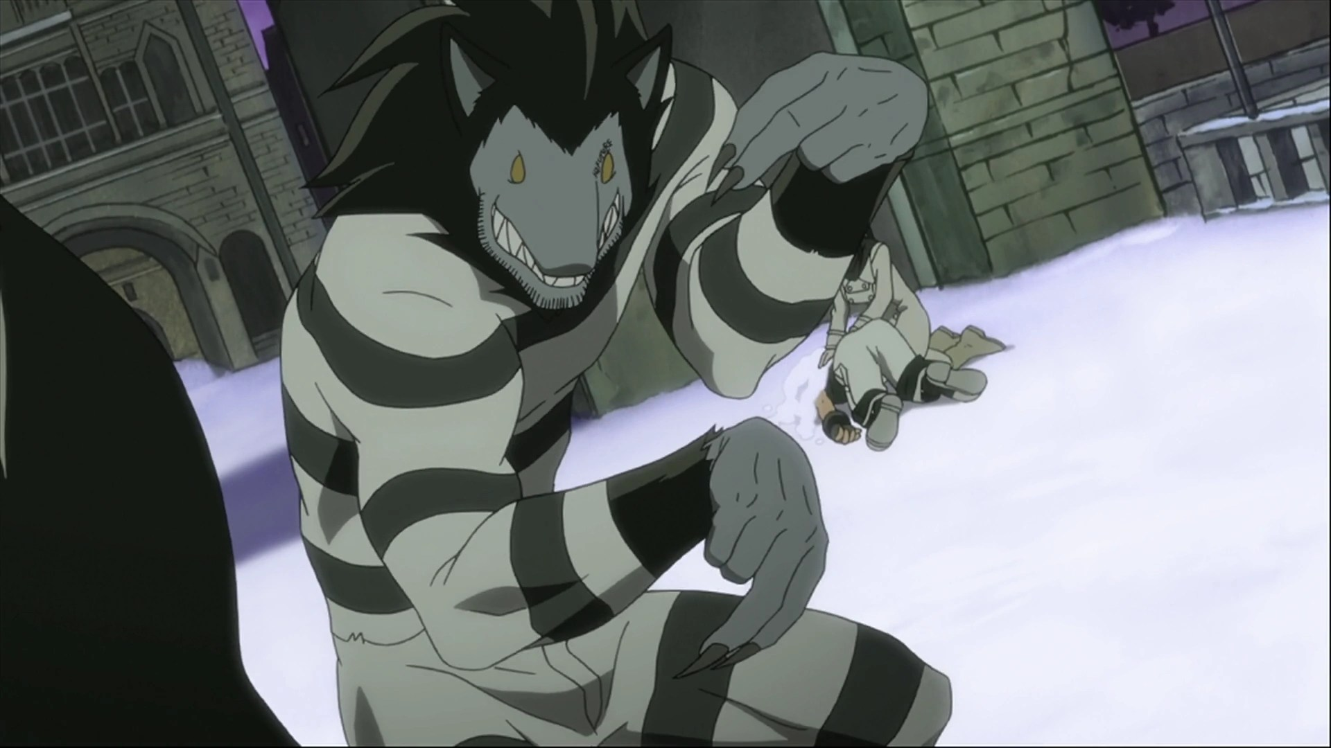 Wolf Girl And Black Prince Wallpaper Fighting Wolf Fist Soul Eater Wiki Fandom Powered By Wikia