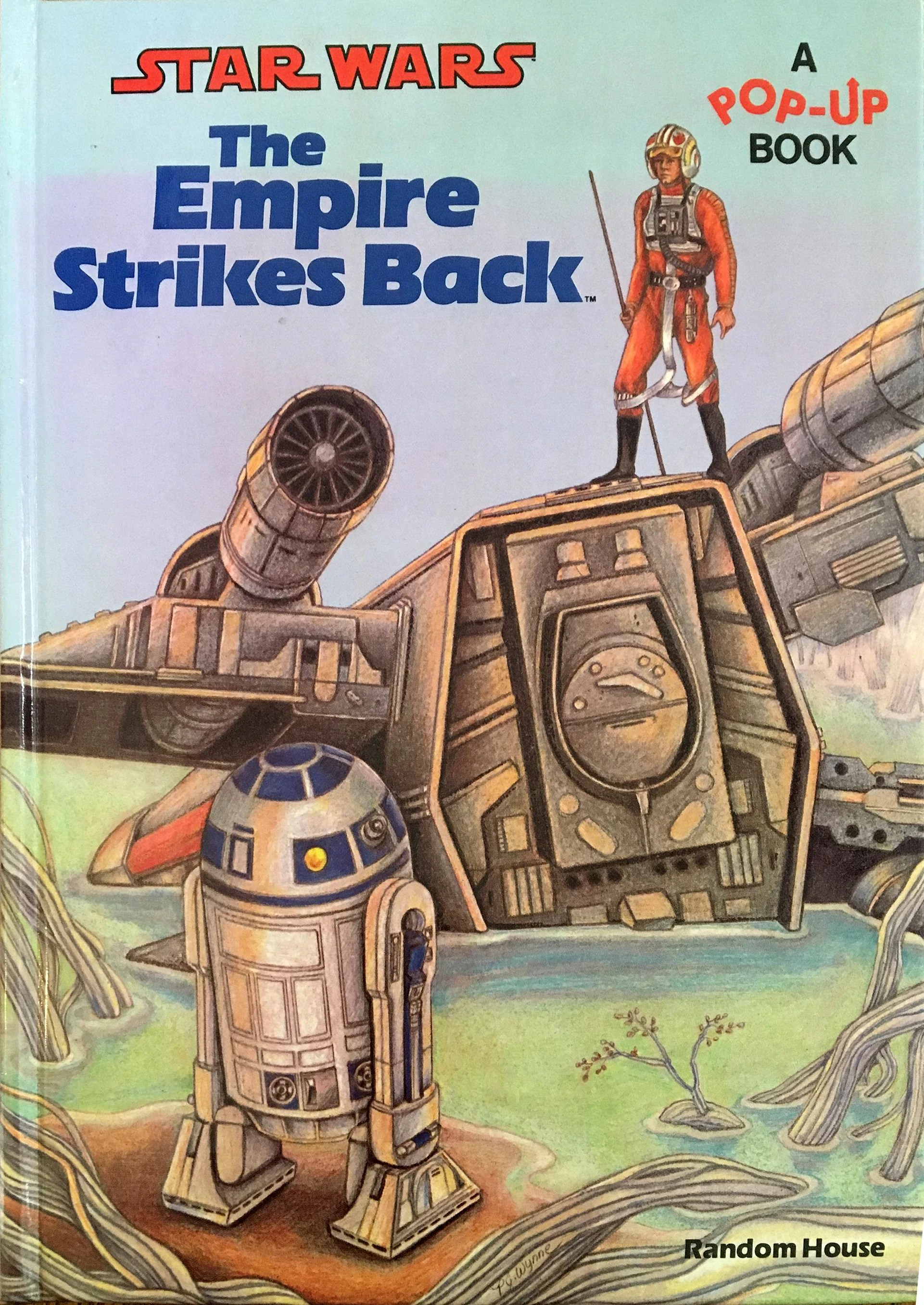 Pop Up Book Cover The Empire Strikes Back Pop Up Book Wookieepedia Fandom