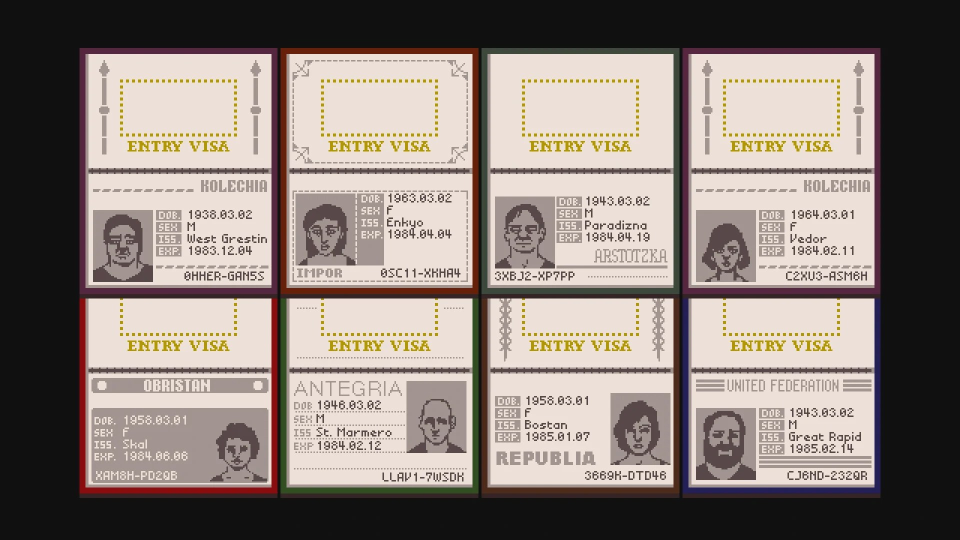 G Letter 3d Wallpaper Papers Please Passports Steam Trading Cards Wiki