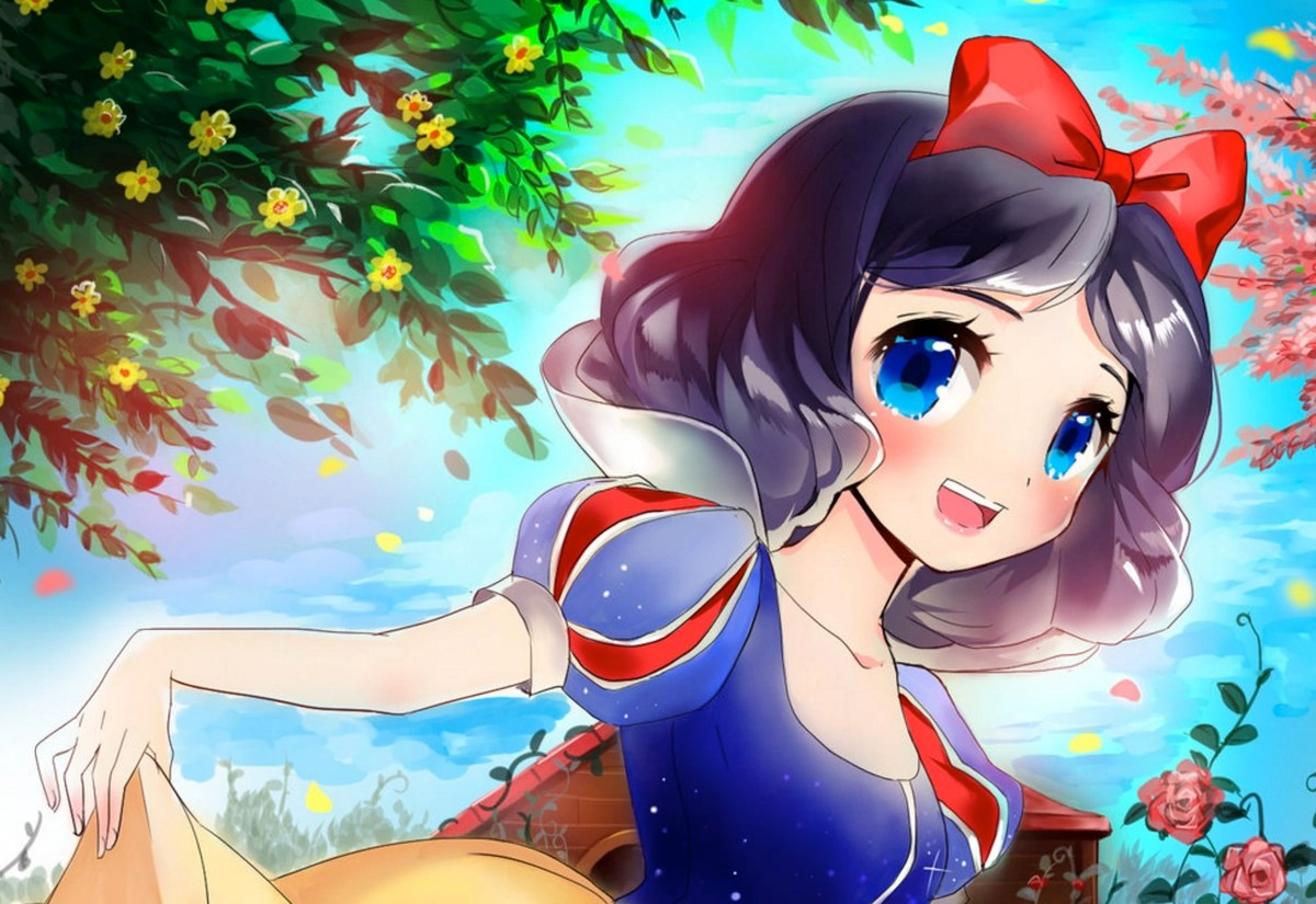Baby Girl And Boy Wallpaper Anime Snow White Straight Bunch Wiki Fandom Powered By