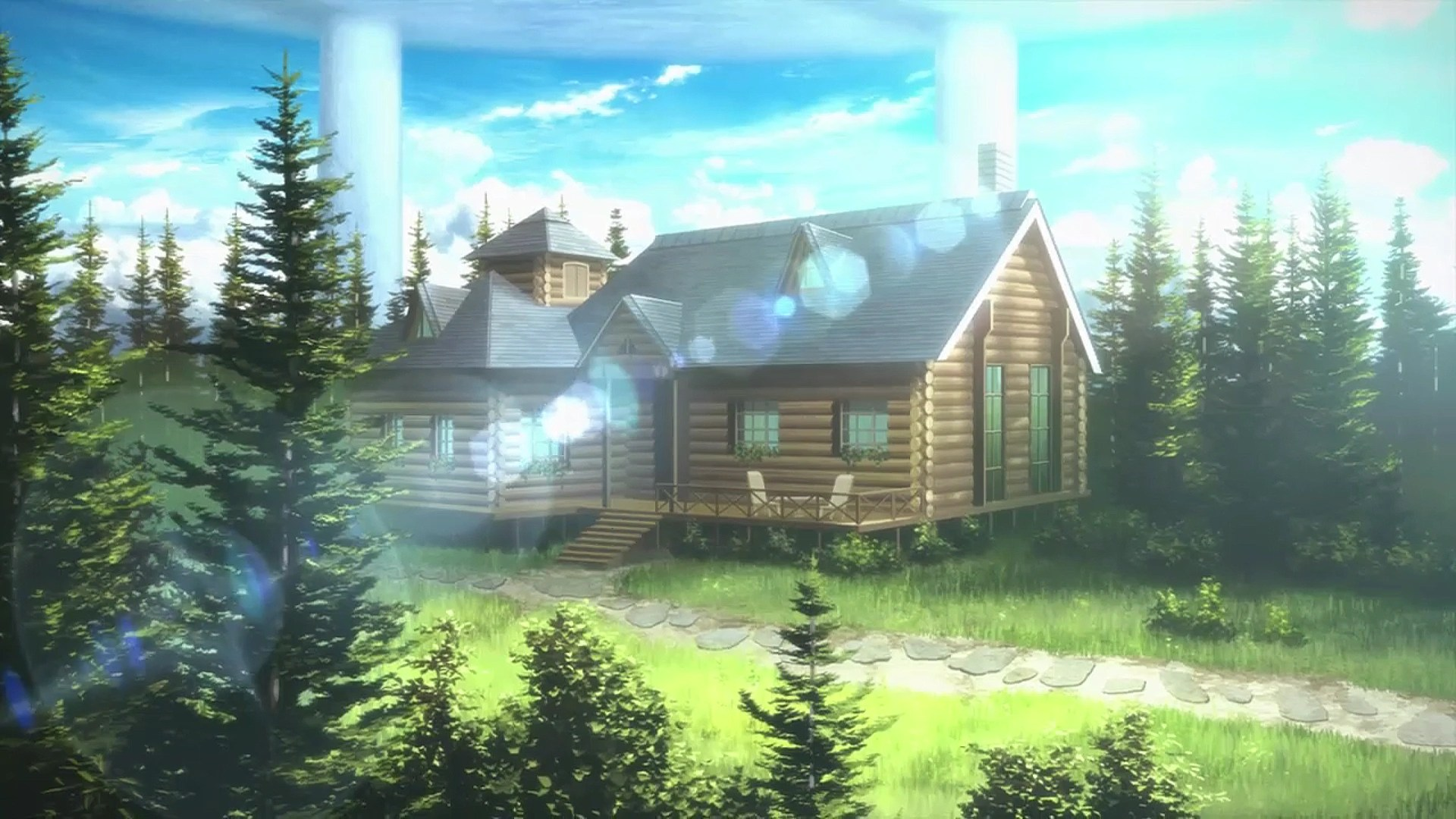Online Home Forest House K4 Sword Art Online Wiki Fandom Powered By Wikia