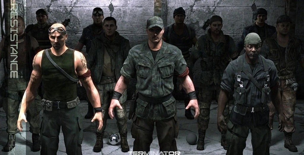 Resistance Fall Of Man Wallpaper Terminator Salvation Video Game Terminator Wiki