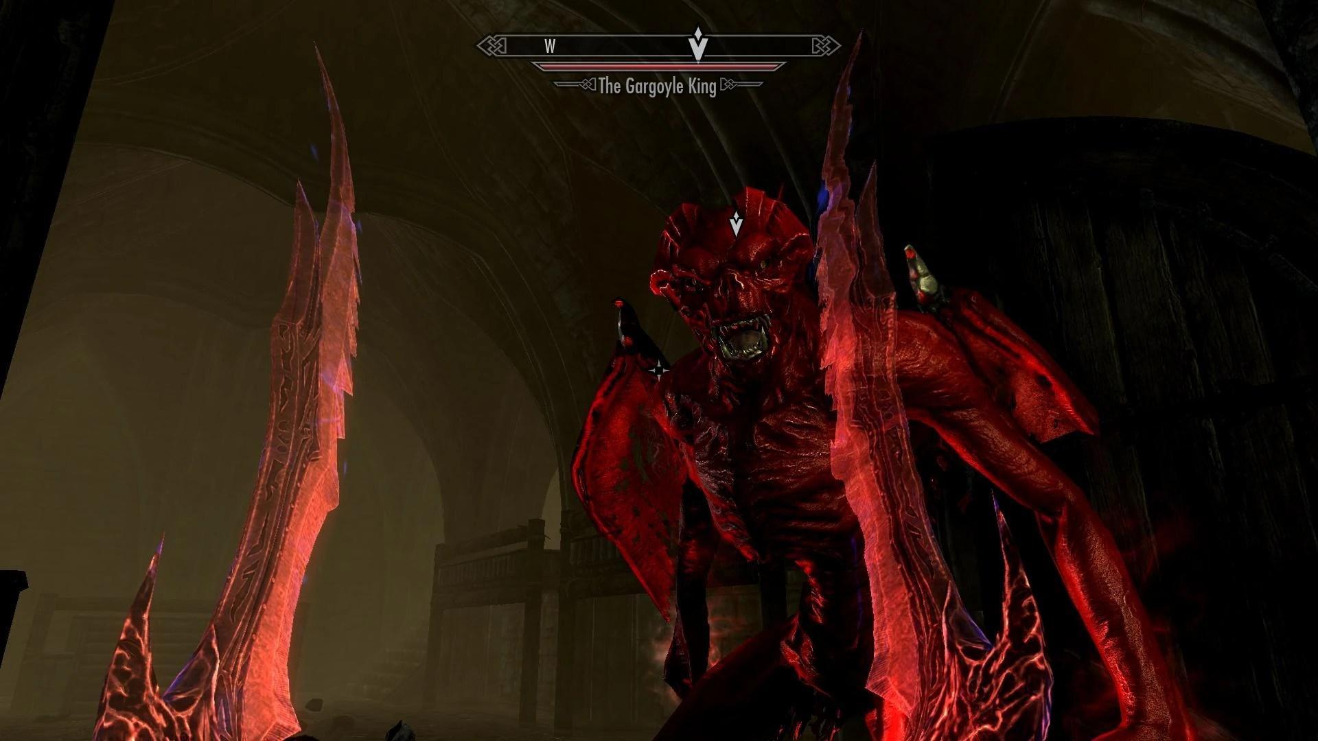 Ghost House Wallpaper Hd 3d The Gargoyle King The Elder Scrolls Mods Wiki Fandom