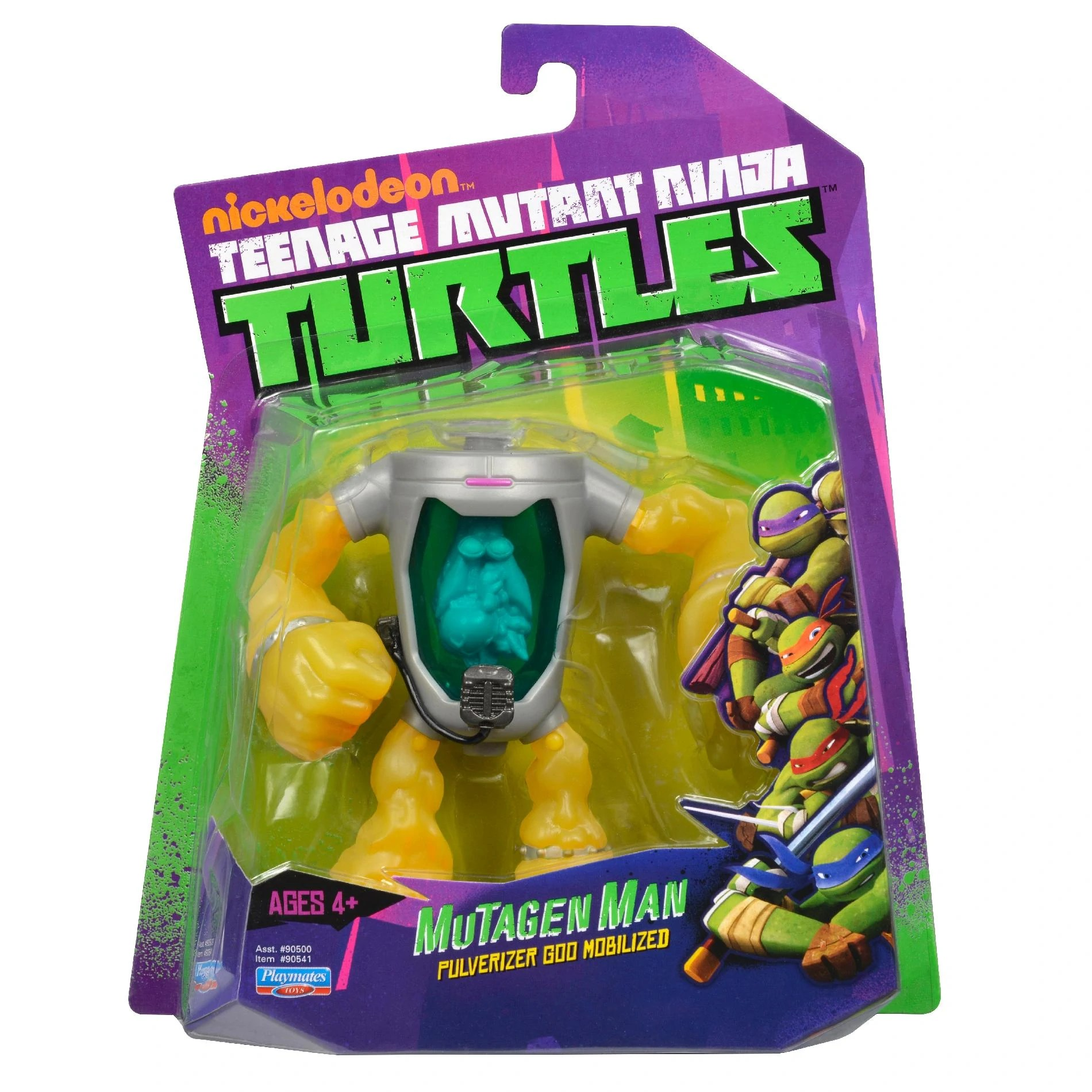 Spielzeug Tmnt Teenage Mutant Ninja Turtles Mutagen Man Action Figure Rare Triadecont Com Br