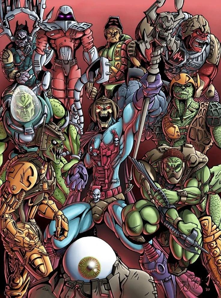 Fall Of Grayskull Wallpaper Evil Mutants Of Denebria Disney Versus Non Disney