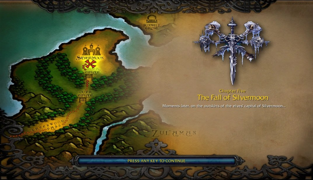 Fall Of The Lich King Wallpaper The Fall Of Silvermoon Wowwiki Fandom Powered By Wikia