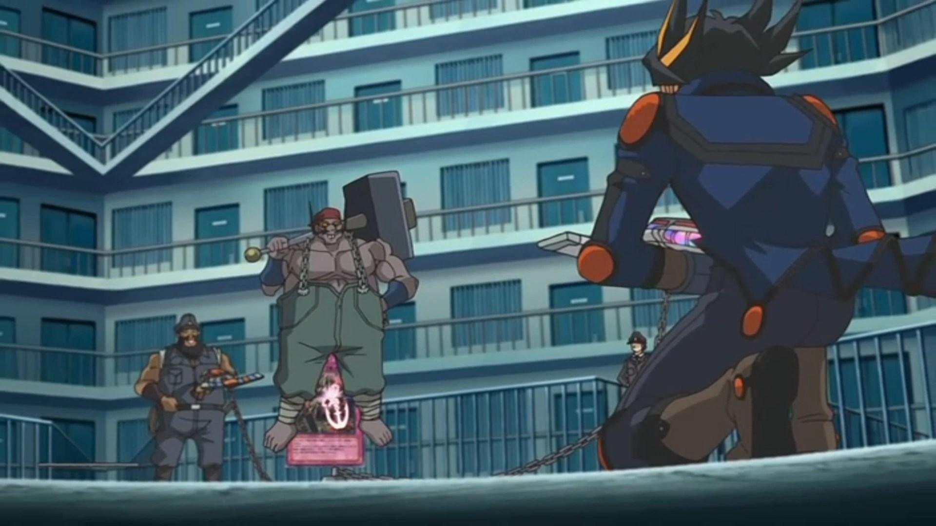German Girl Wallpaper Yusei Fudo And Mr Armstrong S Duel Yu Gi Oh Fandom