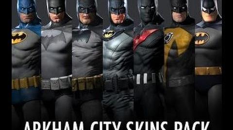 Animated Fire Wallpaper Video Batman Skins Pack Batman Arkham City Dlc