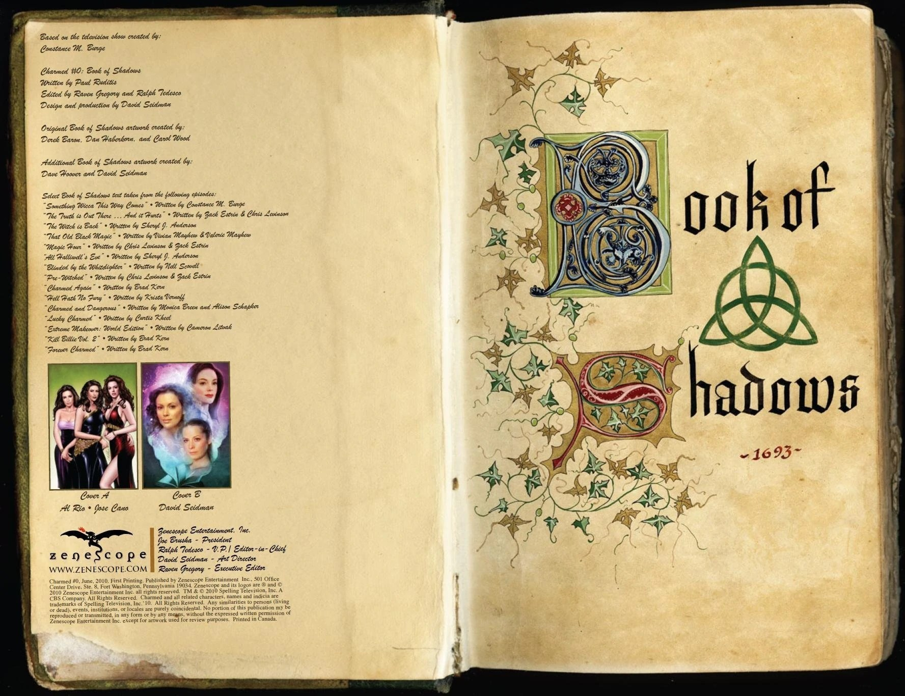 Libro De Hechizos Reales Pdf The Sourcebook Charmed Fandom Powered By Wikia
