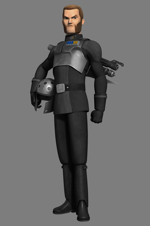 3d Hologram Gun Wallpaper Agent Kallus Disney Wiki Fandom Powered By Wikia