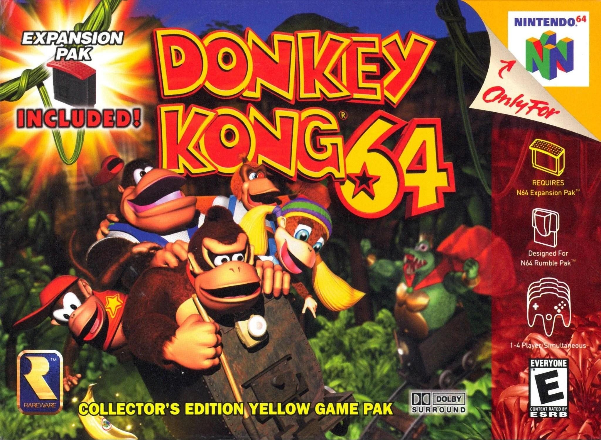 Animal Pak Wallpaper Donkey Kong 64 Donkey Kong Wiki Fandom Powered By Wikia