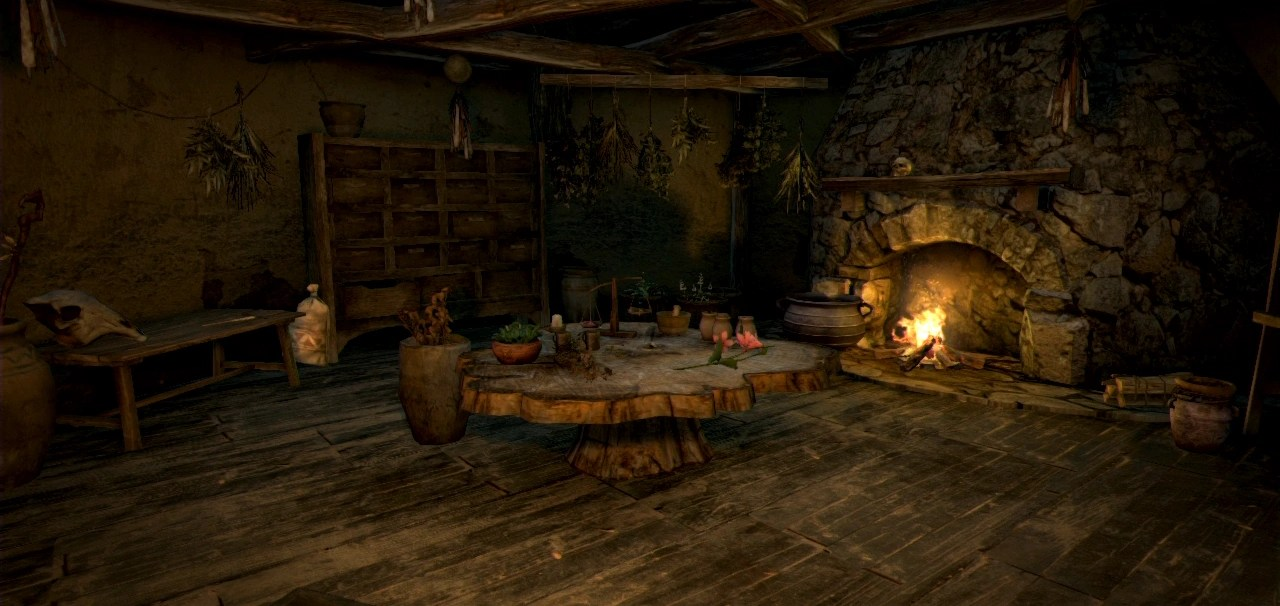 3d Wallpaper For Bedroom Walls Witch S House Dragon S Dogma Wiki Fandom Powered By Wikia