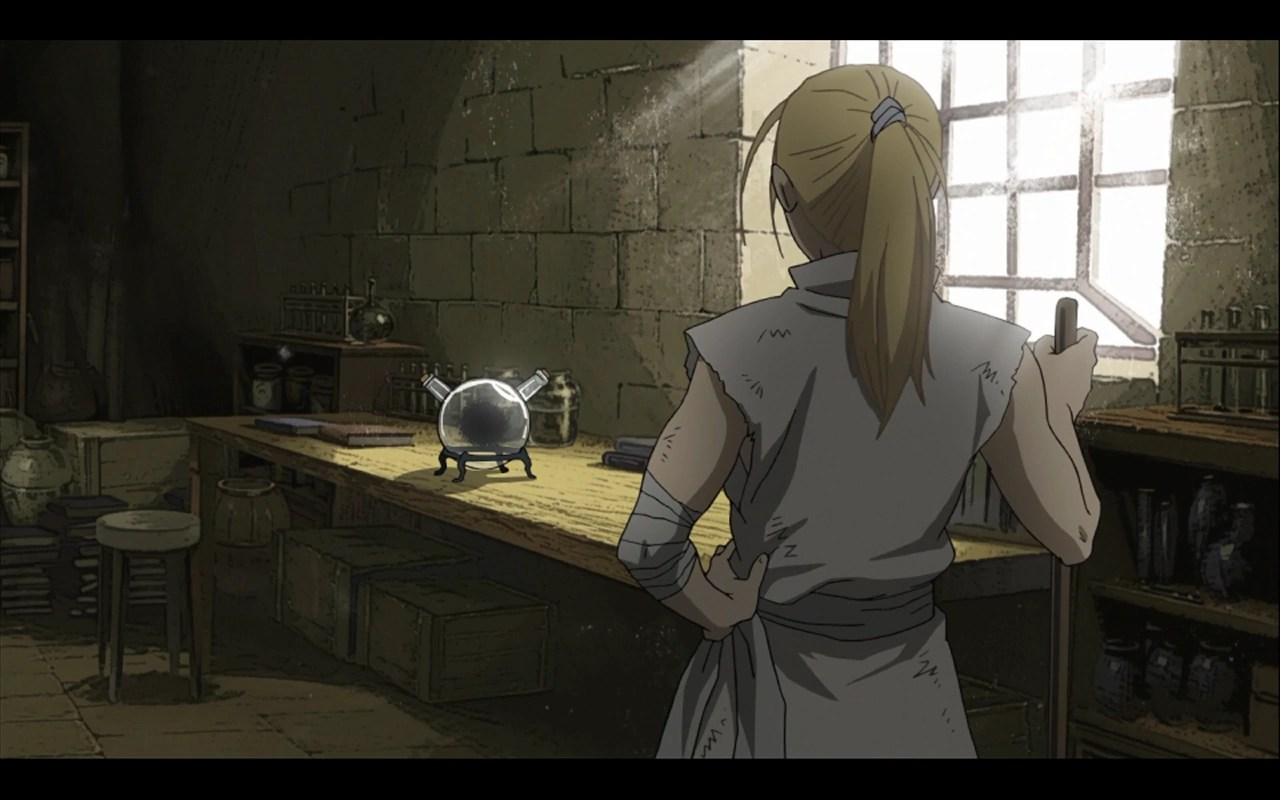 Fullmetal Alchemist Wallpaper Quotes Episode 40 The Dwarf In The Flask 2009 Series Full
