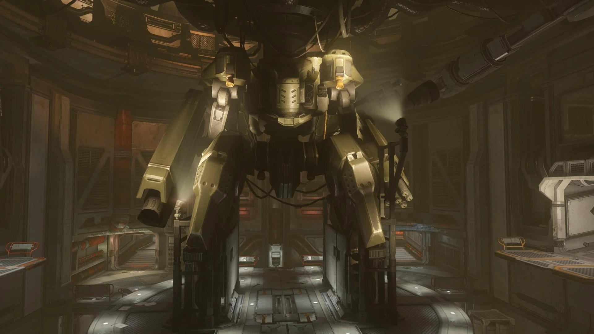 Halo Wallpaper Fall Of Reach Hrunting Mark Ii D Exoskeleton Halo Nation Fandom