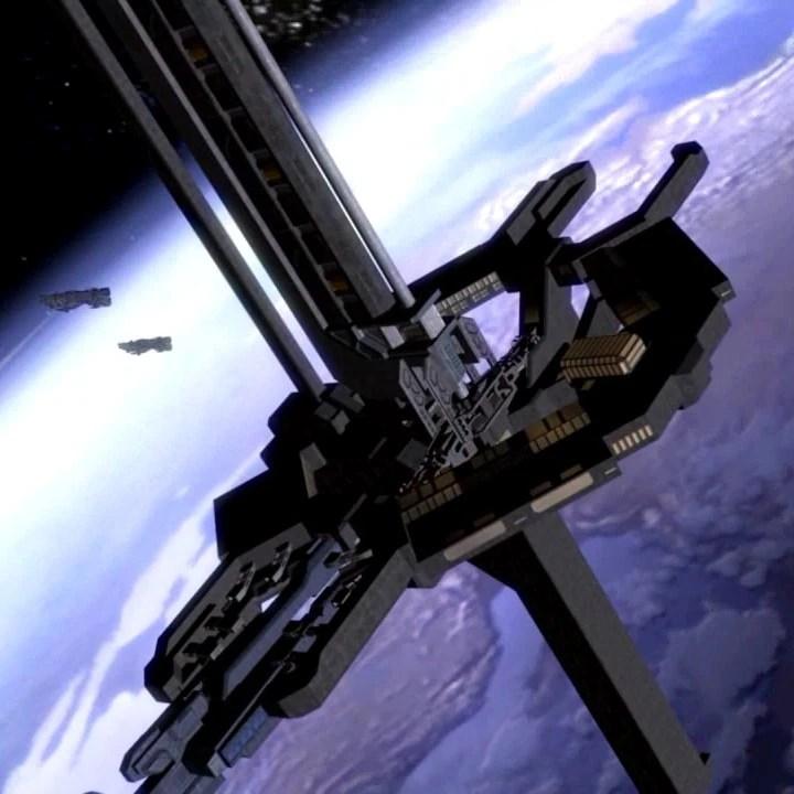 Halo Reach 3d Wallpaper Pc Orbital Defense Platform Halo Nation Fandom Powered By