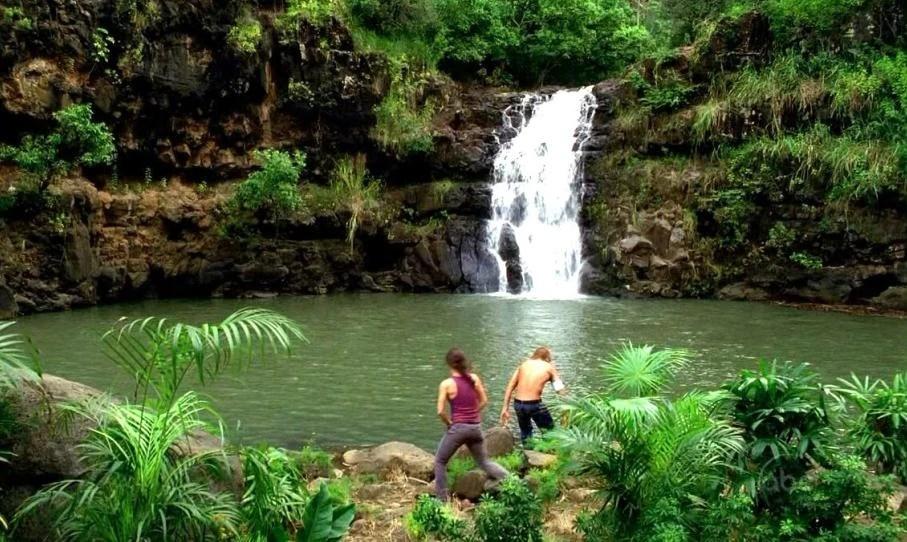 Looking Glass Falls Wallpaper Waterfall Lostpedia Fandom Powered By Wikia