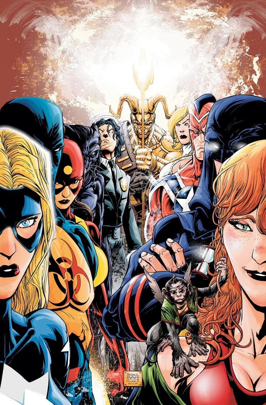 Dc Comics Power Girl Wallpaper Justice Society Of America All Stars Dc Database