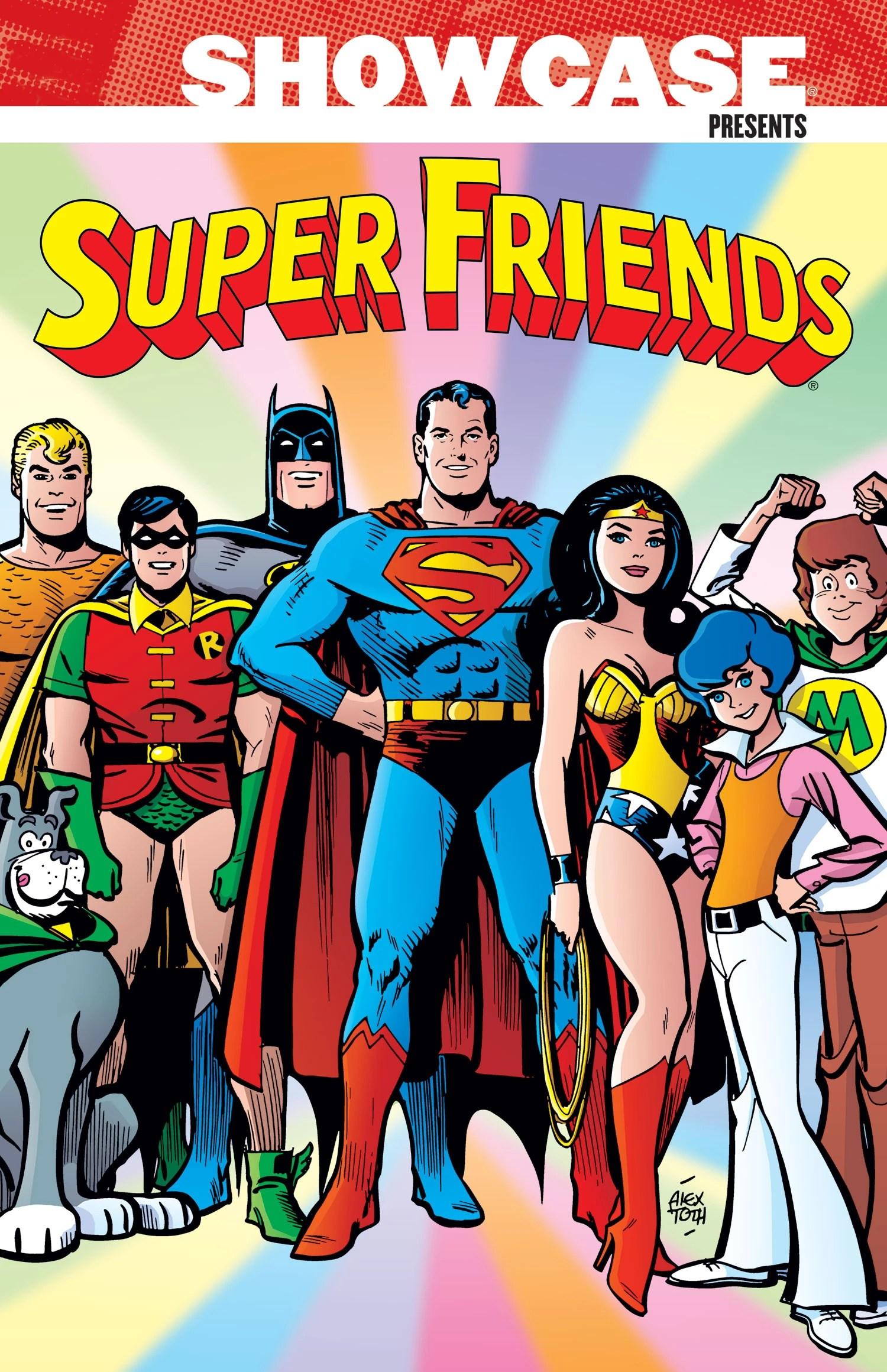 Friends Series Quotes Wallpaper Showcase Presents Super Friends Vol 1 Collected Dc