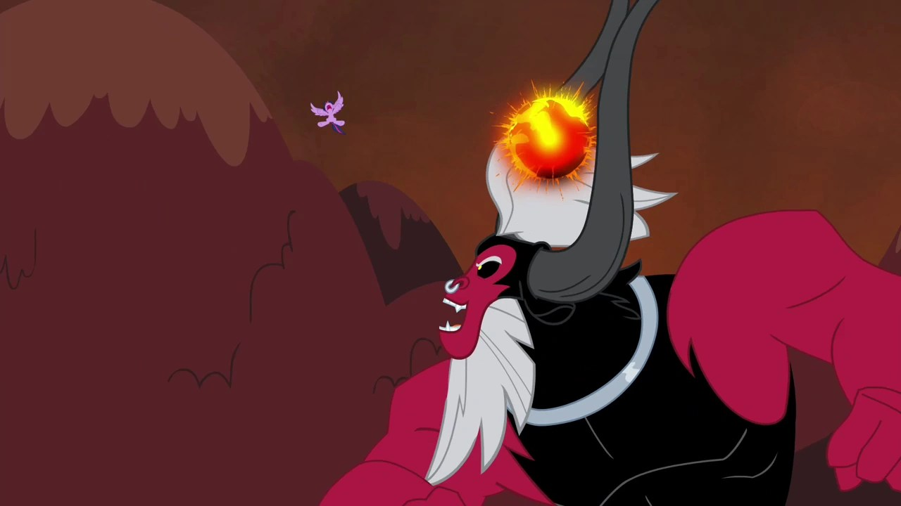 Image tirek throws twilight towards the mountain s4e26 png my little pony friendship is magic wiki fandom powered by wikia