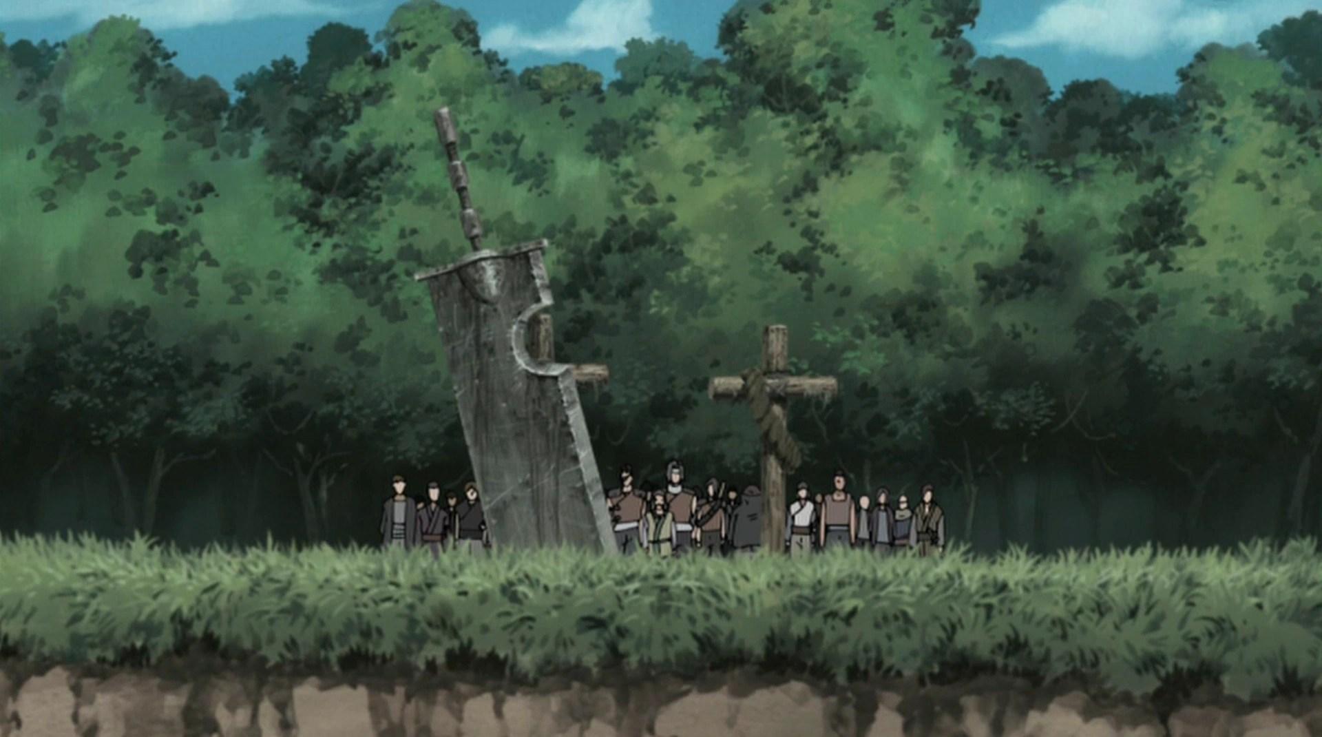 Madara Quotes Wallpaper Zabuza And Haku S Grave Narutopedia Fandom Powered By