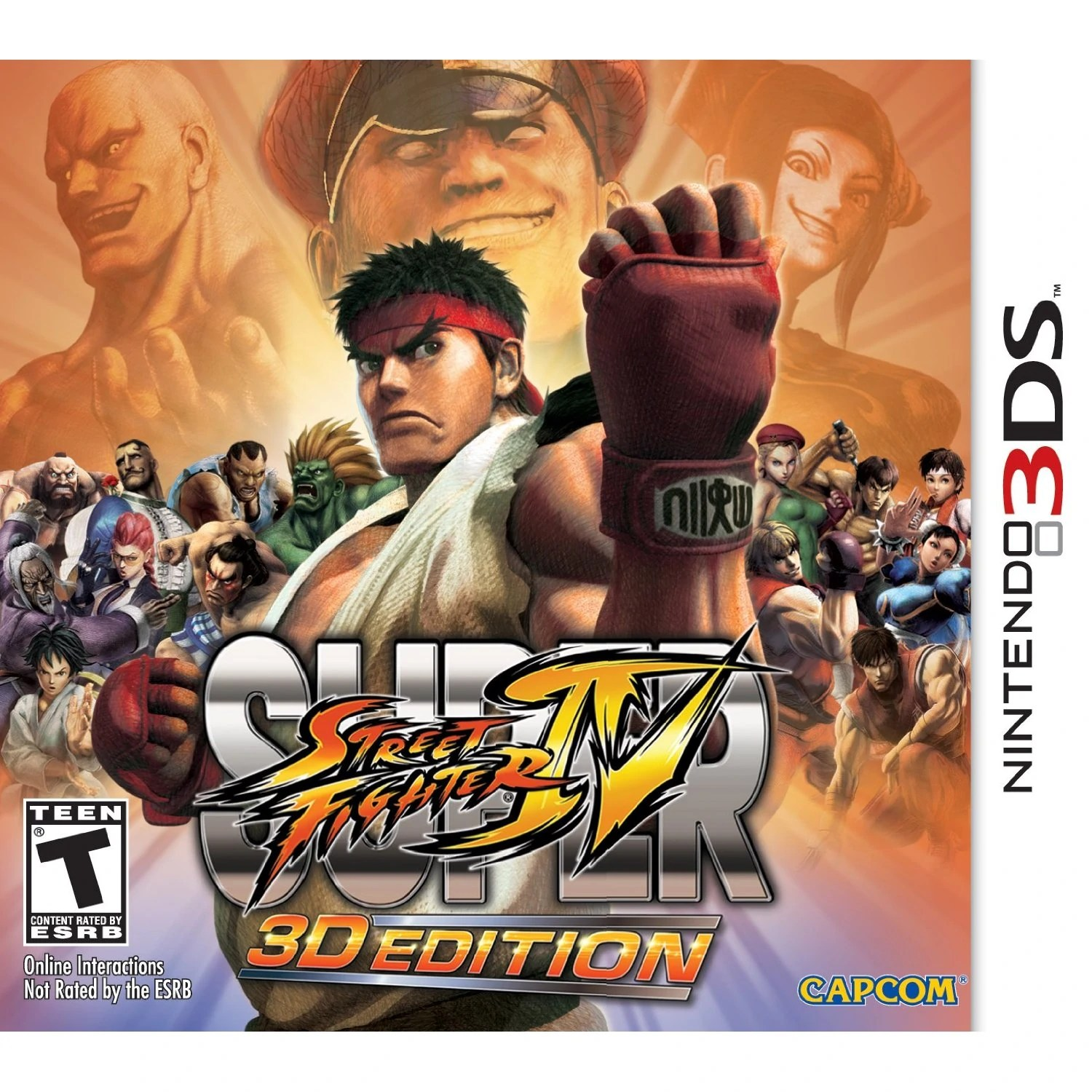 Donkey Vs Mario Ds Super Street Fighter Iv 3d Edition Nintendo 3ds Wiki
