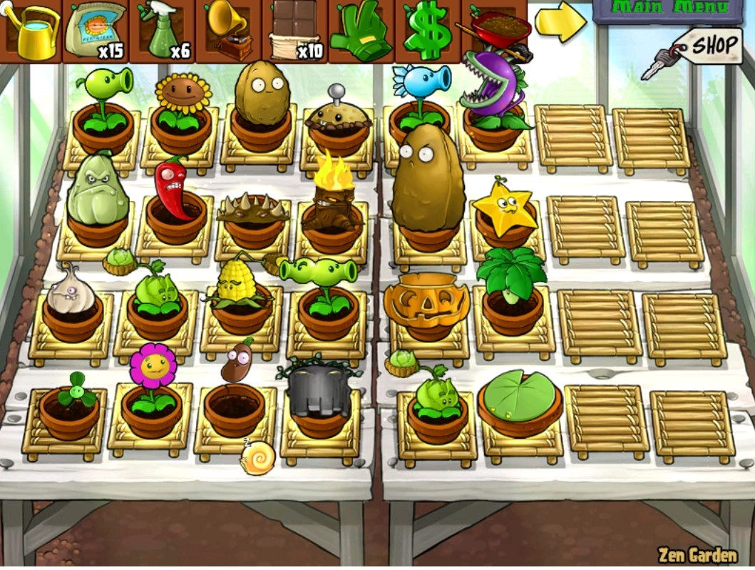 Zen Garten Plants Vs Zombies Image Ms Zen Garden Png Plants Vs Zombies Wiki