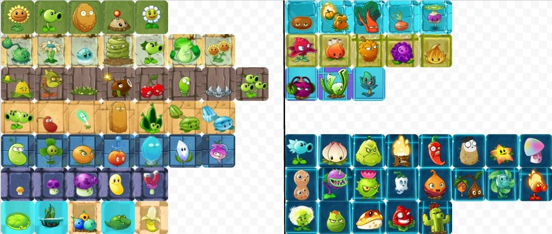 Image Pvz All Plants Side A NMT Png Plants Vs Zombies Wiki