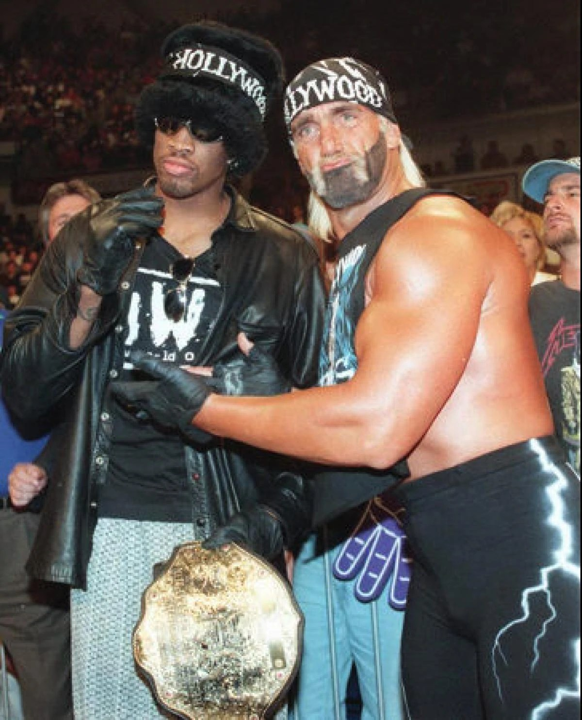 Hulk Hogan Wiki Dennis Rodman Officialwwe Wiki Fandom Powered By Wikia