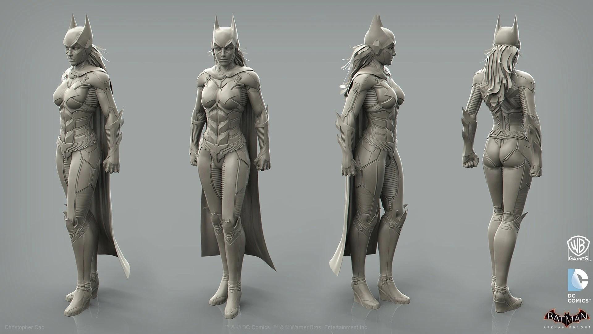 3d Superman Wallpaper Ii Android Image Batgirl Turn Around Jpg Arkham Wiki Fandom