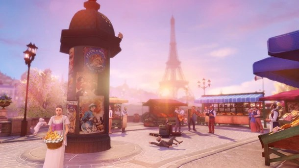 3d Patriots Wallpaper Paris Bioshock Wiki Fandom Powered By Wikia
