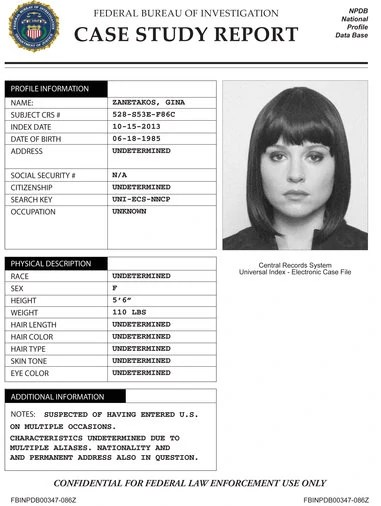 Personality Pedagogy Content Casestudies Image Gina Zanatakos Case Studyjpg The Blacklist Wiki