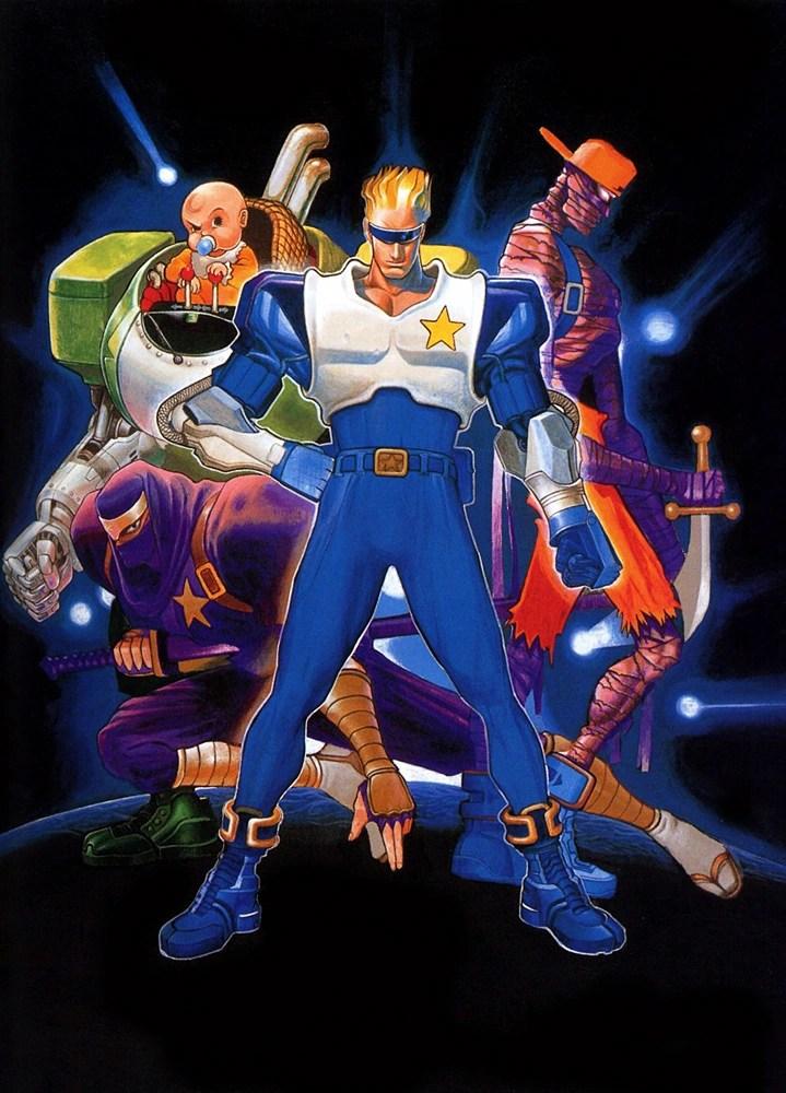S Animation Wallpaper Captain Commando Capcom Database Fandom Powered By Wikia