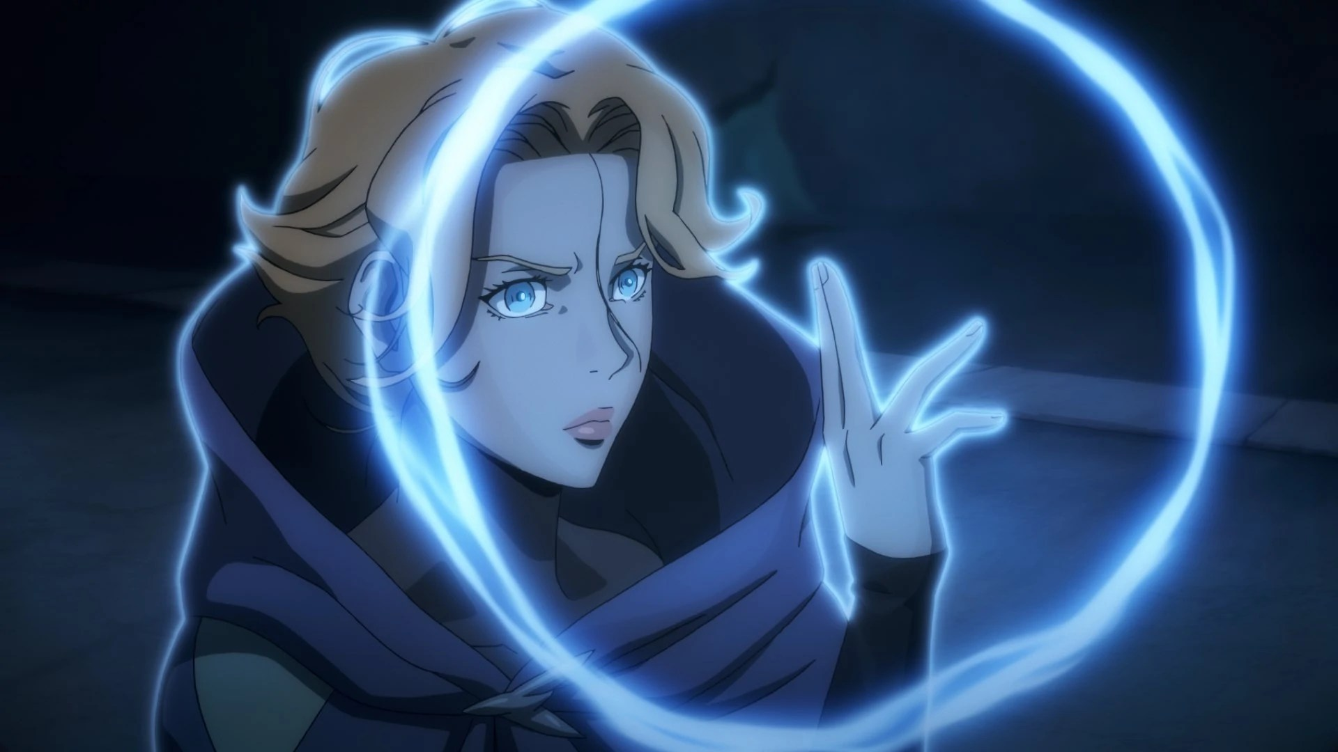 Magi Anime Wallpaper Sypha Belnades Netflix Series Castlevania Wiki Fandom