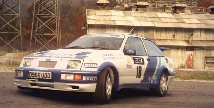 Group B Rally Cars Wallpapers Ford Sierra Cosworth Rs500 Colin Mcrae Rally And Dirt