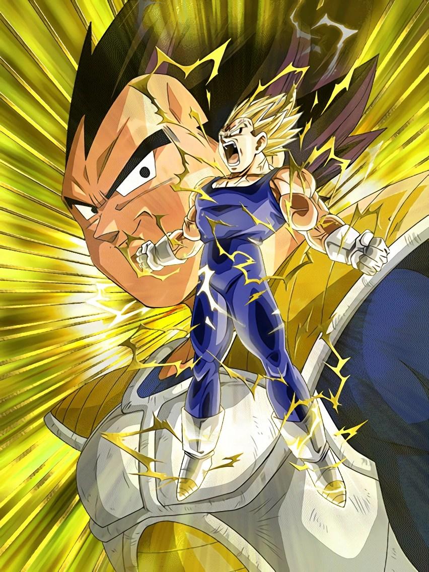Super Saiyan Live Wallpaper Iphone X Farewell Proud Warrior Majin Vegeta Dragon Ball Z