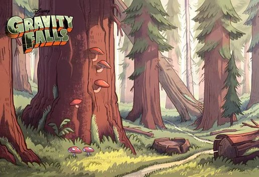 Fall Woodland Creatures Wallpaper Gravity Falls Forest Disney Wiki Fandom Powered By Wikia