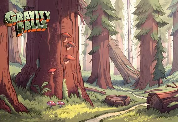 Fall Wallpaper For Windows 10 Gravity Falls Forest Disney Wiki Fandom Powered By Wikia