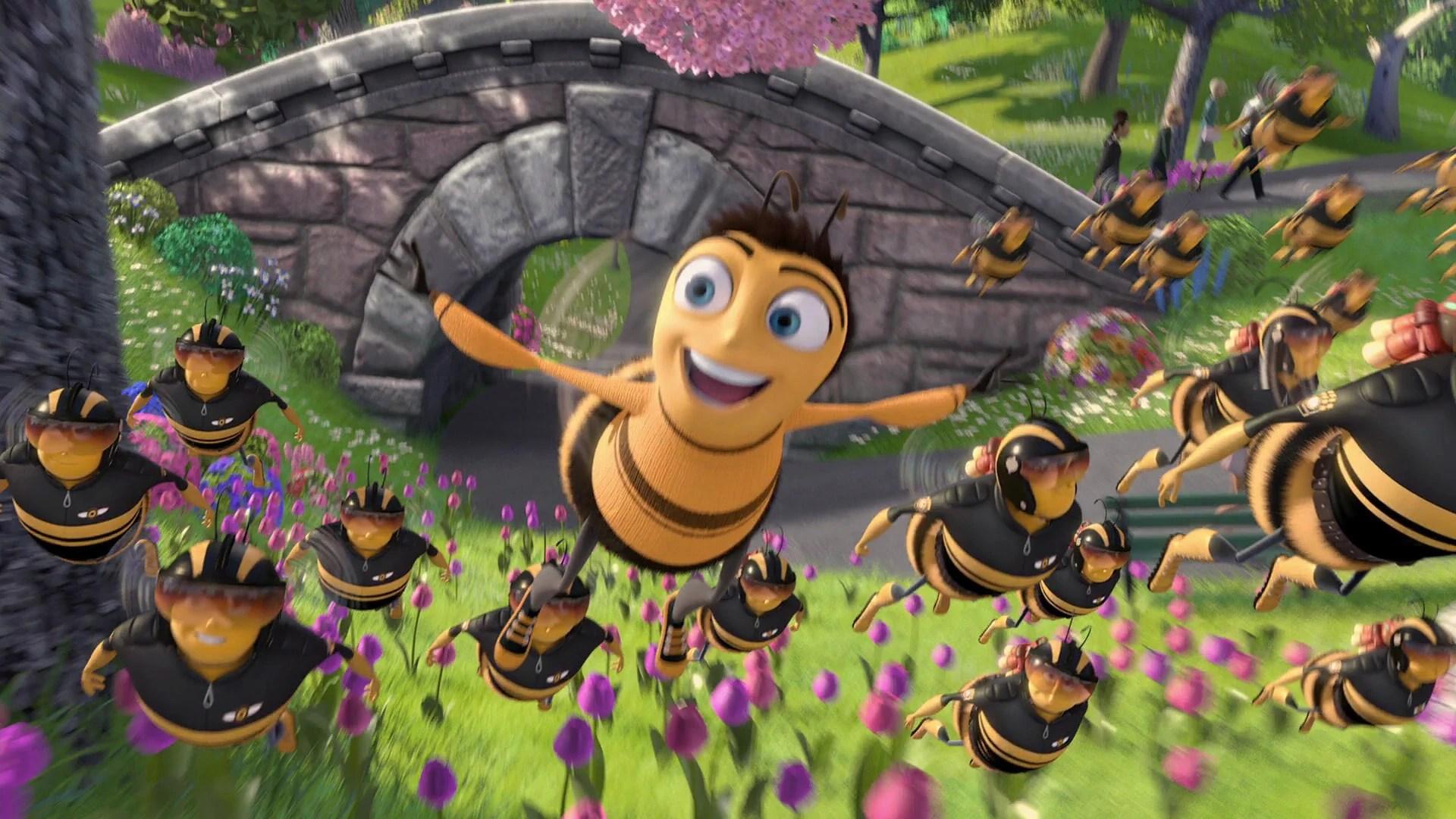 Cute Bees Wallpaper Image Bee Movie Disneyscreencaps Com 1710 Jpg